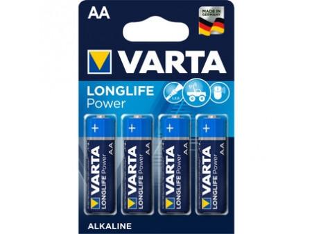VARTA LONGLIFE POWER ALKALNA BATERIJA 4 X LR06 (AA) 1,5 V MIGNON BLISTER