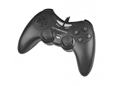 ESPERANZA GAMEPAD EGG105K FIGHTER ZA PC, BLACK