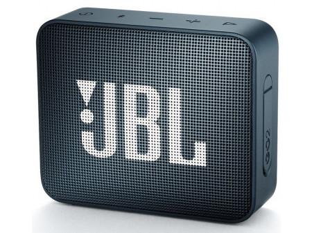 JBL GO 2 PRIJENOSNI ZVUČNIK NAVY BLUE
