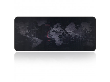 EXTENDED LARGE WORLD MAP  MOUSE PAD KEYBOARD MAT