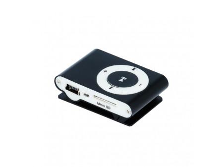 SETTY MP3 PLAYER + SLUŠALICE, CRNI