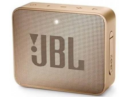 JBL GO 2 PRIJENOSNI ZVUČNIK CHAMPAGNE GOLD