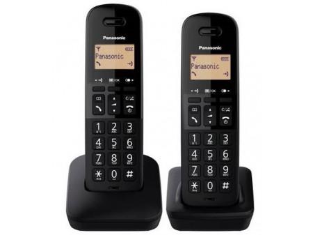 PANASONIC DECT KX-TG B 612FXB FIKSNI BEŽIČNI TELEFON BLACK
