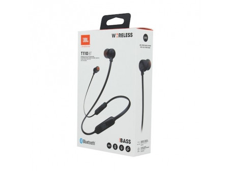 JBL BLUETOOTH WIRELESS SLUŠALICE T110BT BLACK