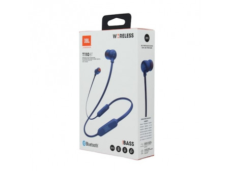 JBL BLUETOOTH WIRELESS SLUŠALICE T110BT BLUE