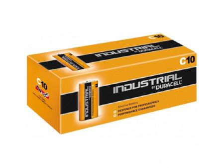 DURACELL Industrial alkalna baterija, LR14 (C) 1,5 V, poluamerikanka, 10 PAK