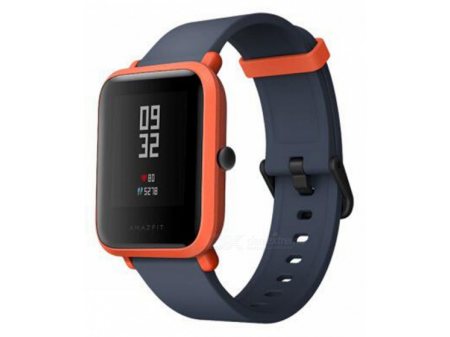 XIAOMI AMAZFIT BIP SMARTWATCH SPORT GPS RED