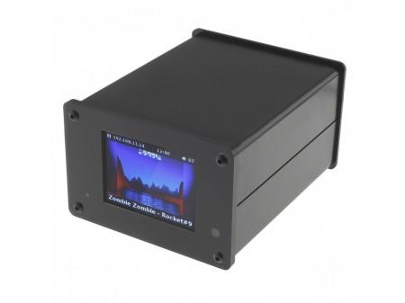 AUDIOPHONICS RASPDAC MINI LCD KIT STREAMER FOR RASPBERRY PI 4 & DAC ES9038Q2M
