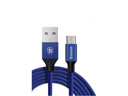 BASEUS YIVEN KABEL MICRO-USB 2.0A 1M BLUE