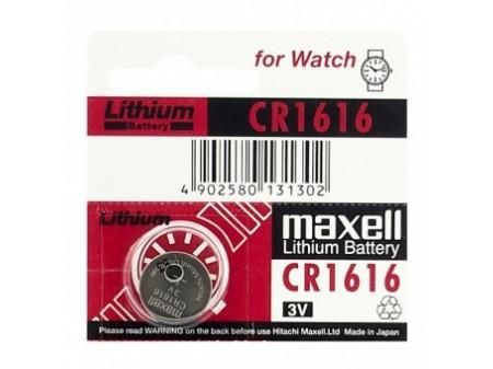 MAXELL LITIUM BATERIJA CR1616 3V