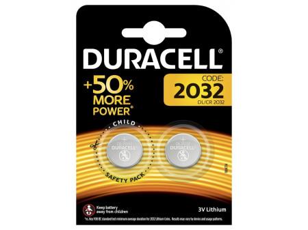 DURACELL Litium baterija, CR2032 blister 2 kom