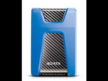 """ADATA PRIJENOSNI HARD DRIVE HD650 2TB 2.5"""" USB 3.1 BLUE"""