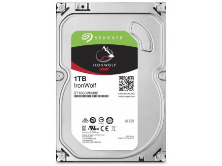 HDD SEAGATE IRONWOLF NAS ST1000VN002 1TB SATA III 64MB