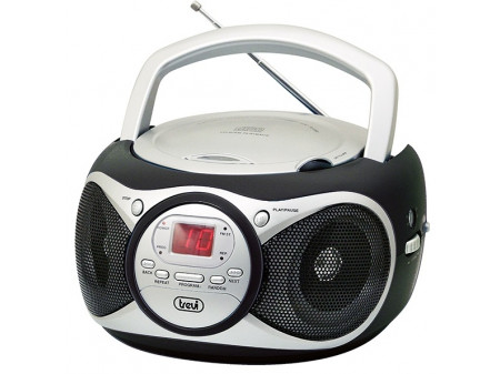 TREVI CD 512 PRIJENOSNI RADIO CD / MP3 PLAYER BLACK