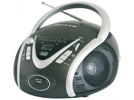 TREVI CMP 542 PRIJENOSNI RADIO CD / MP3 PLAYER GRAY