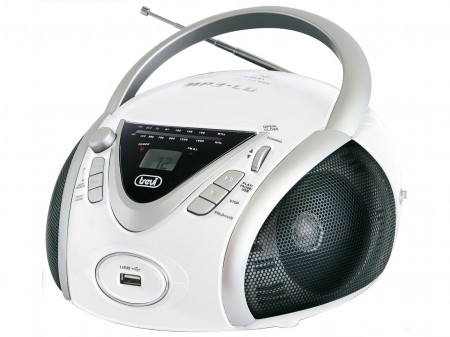 TREVI CMP 542 PRIJENOSNI RADIO CD / MP3 PLAYER WHITE