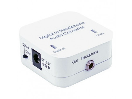 DIGITAL TO STEREO AUDIO CONVERTER DCT-3HP