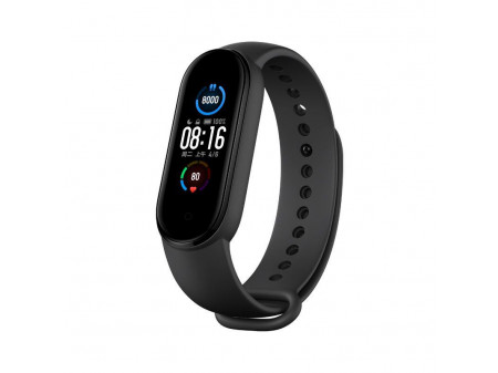 XIAOMI MI BAND 5 SMART TRACKER BLACK