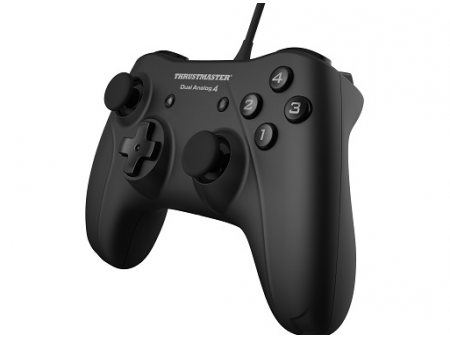 GAMEPAD THRUSTMASTER DUAL ANALOG 4 PC, CRNI