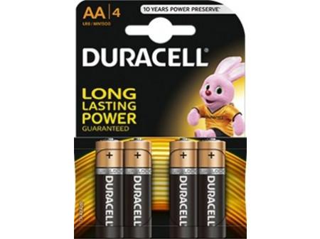 DURACELL Basic alkalna baterija, 4 x LR06 (AA) 1,5 V, mignon, blister