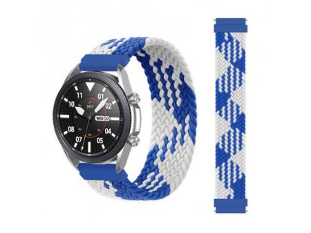 ZAMJENSKA NARUKVICA ZA HUAWEI WATCH 3 / 3 PRO BLUE-WHITE