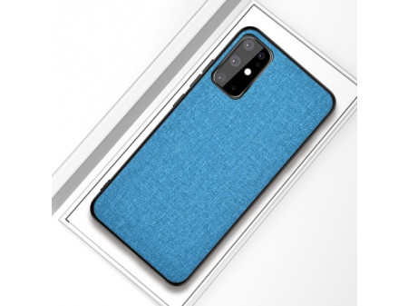 ZADNJA MASKA CLOTH ZA SAMSUNG GALAXY S20 BLUE