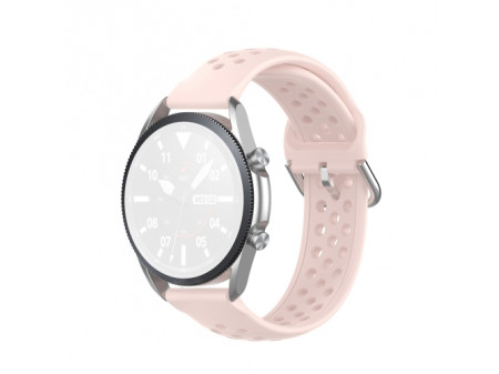 SILIKONSKA NARUKVICA ZA SAMSUNG GALAXY WATCH 3 45mm PINK