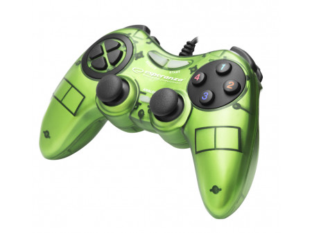 ESPERANZA GAMEPAD EGG105G FIGHTER ZA PC, GREEN