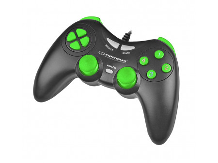 ESPERANZA GAMEPAD EGG105KG FIGHTER ZA PC, GREEN-BLACK