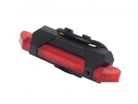 ESPERANZA STRAŽNJA LED USB LAMPA ZA BICIKL VELORUM EOT014