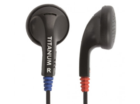 SLUŠALICE TITANIUM TH102 BLACK EAR BUBBLE