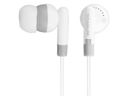 SLUŠALICE TITANIUM TH103 WHITE EAR BUBBLE