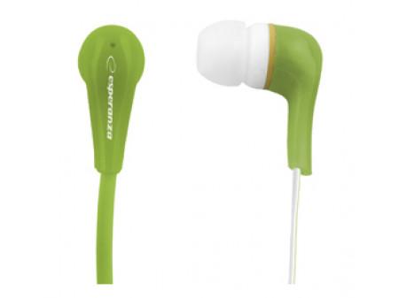 SLUŠALICE ESPERANZA LOLLIPOP EH146G GREEN EAR BUBBLE
