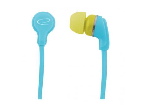 SLUŠALICE ESPERANZA NEON EH147T TIRKIZNA EAR BUBBLE