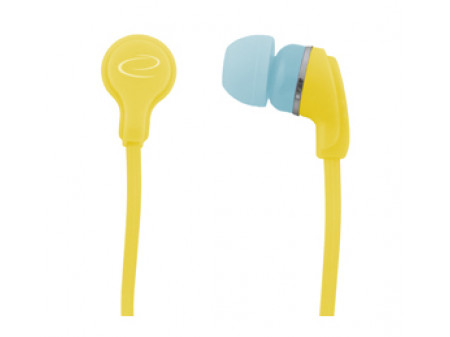 SLUŠALICE ESPERANZA NEON EH147Y YELLOW  EAR BUBBLE