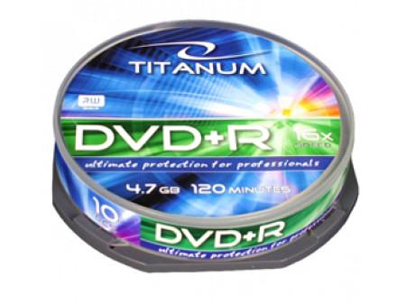 TITANUM DVD+R MEDIJI 10/1