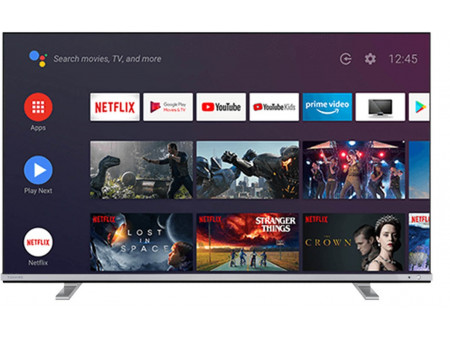 "TOSHIBA SMART ANDROID LED TV 65"" 165CM 65UA4B63DG ULTRA HD"