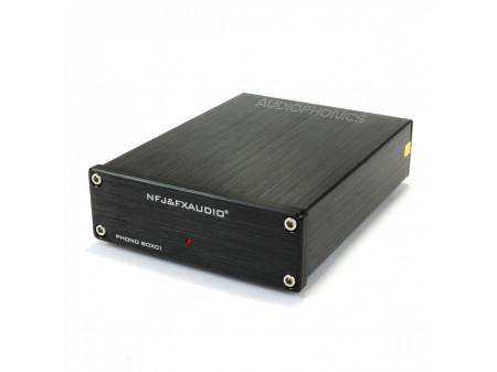 FX-AUDIO BOX01 PREAMPLIFIER VINLY PLAYER (MM) NJM2068 BLACK - PREDPOJAČALO