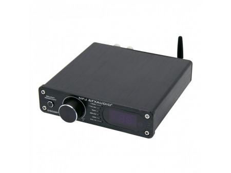FX-AUDIO D502BT POJAČALO TAS5342A SUBWOOFER IZLAZ BLUETOOTH 5.0 2X60W/4Ohm REMOTE BLACK