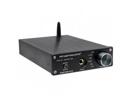 FX-AUDIO DAC - X6 MKII DAC HEADPHONE AMPLIFIER ES9018 QCC3008 24BIT 192KHZ - POJAČALO ZA SLUŠALICE