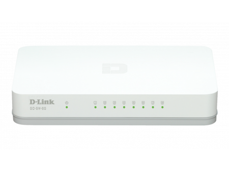 D-LINK SWITCH 8-PORT 10/100/1000 GO-SW-8G/E