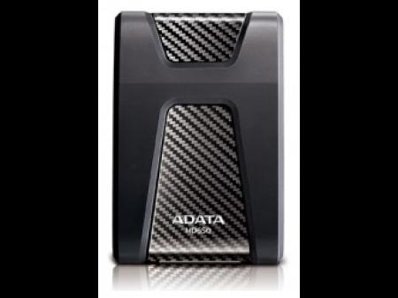 """ADATA PRIJENOSNI HARD DRIVE HD650 2TB 2.5"""" USB 3.1 BLACK"""