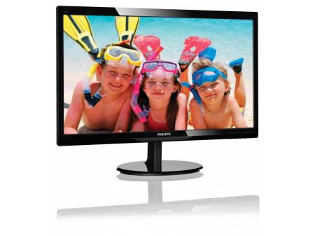 "PHILIPS MONITOR 24"" 246V5LHAB LED HDMI SPEAKERS BLACK"