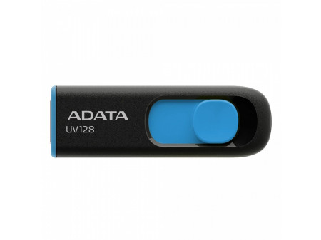 ADATA DASHDRIVE UV128 128GB USB3.0 Black-Blue 90MB / 40MB