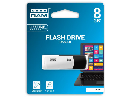 GOODRAM TWISTER USB MEMORIJA 8GB Blue