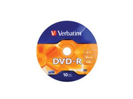VERBATIM DVD-R 4,7GB 16X 10/1 value pack