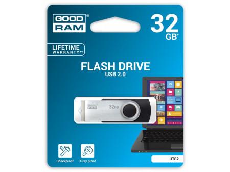GOODRAM TWISTER USB MEMORIJA 32GB USB2.0 BLACK