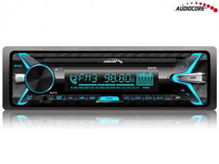 AUDIOCORE AUTO RADIO AC9710 BT,USB,SD,ISO
