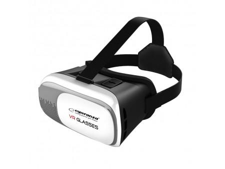 """ESPERANZA GLASSES 3D VR EMV300 FOR SMARTPHONES 3.5-6"""", WHITE"""