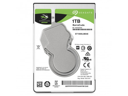 SEAGATE BARRACUDA HDD 1TB 2,5''  ST1000LM048